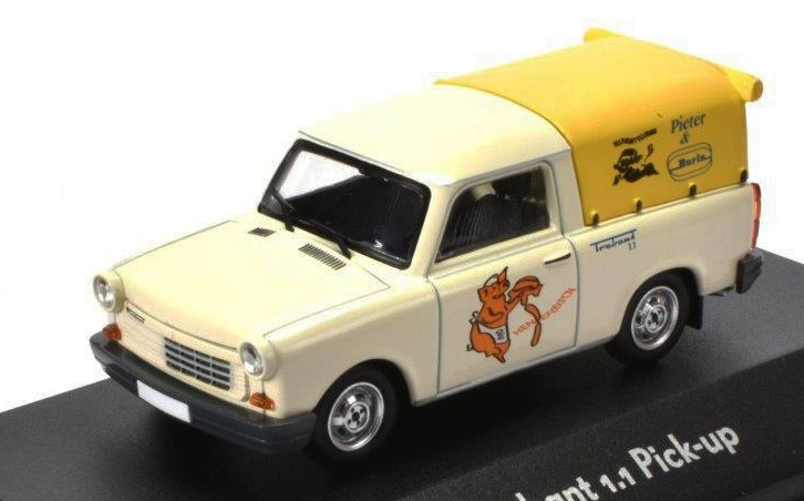 1:43 Trabant 1,1 pick-up - Atlas