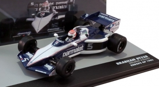 1:43 Brabham BT 52B BMW 1983 VC Europe # 5 Nelson Piquet - Atlas