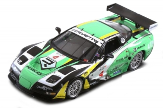 1:43 Chevrolet Corvette C5R 2007 # 4 - Atlas