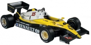 1:43 Renault RE 40 1983 # 15 Alain Prost - Atlas