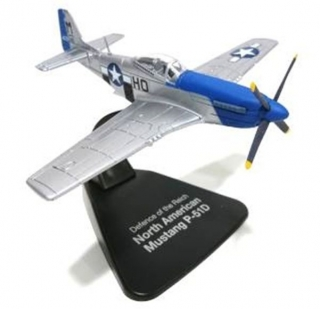 1:72 North American P51 D Mustang - Atlas