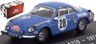 1:43 Alpine Renault A110 1971 Monte Carlo # 28 Andersson-Stone - Atlas Rally