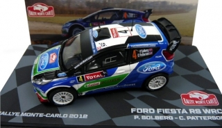 1:43 Ford Fiesta RS WRC 2012 Monte Carlo # 4 Solberg-Patterson - Atlas Rally