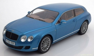 1:18 Bentley Continental Flying Star Touring s.modrý - BoS