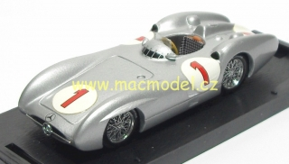 1:43 Mercedes-Benz W 196C 1954 GP Great Britain # 1 J.M.Fangio - Brumm