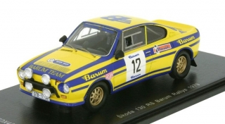 1:43 Skoda 130 RS 1979 Barum Rally # 12 Sivík-Čermák - Fox18