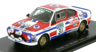 1:43 Skoda 130 RS 1978 RAC # 31 Haugland-Gallagher - Fox18