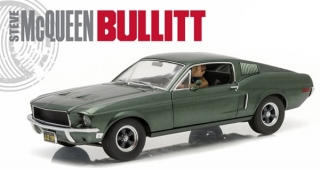1:18 Ford Mustang GT 390 1968 Bullit - Greenlight