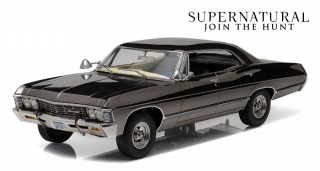 1:43 Chevrolet Impala 1967 Sport Sedan Supernatural - Greenlight