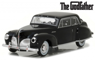 1:43 Lincoln Continental 1941 Godfather - prostřílený - Greenlight