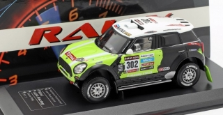1:43 Mini All4Racing 2013 Dakar # 302 Peterhansel-Cottret, limitovaná edice - Ixo