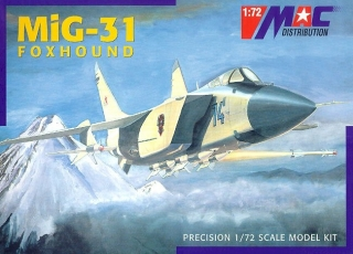 1:72 MiG 31. - MAC.distribution