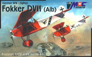 1:72 Fokker D VII. ( ALB )  - MAC.distribution