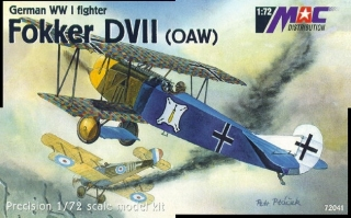 1:72 Fokker D VII. ( OAW ) - MAC.distribution