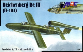 1:72 Fi Fi-103 Reichenberg RE IV - MAC.distribution