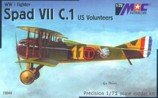 1:72 Spad VII US Volunteers - MAC.distribution