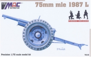 1:72 gun 75mm mle 1897 L - MAC.distribution