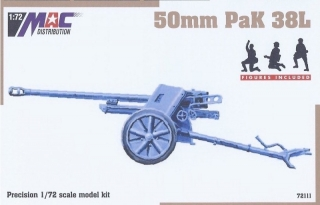 1:72 gun 50mm PaK 38L - MAC.distribution