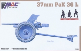 1:72 gun 37mm PaK 36L - MAC.distribution