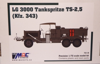 1:72 Mercedes-Benz LG 3000 TS-2,5 Kfz.343 cisterna - MAC.distribution