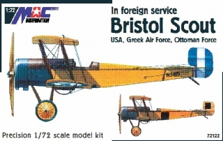 1:72 Bristol Scout in foreign service - USA, Greek, Ottoman - MAC.distribution
