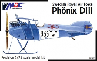 1:72 Phönix D III. Swedish Royal Air Force - na objednávku - MAC.distribution
