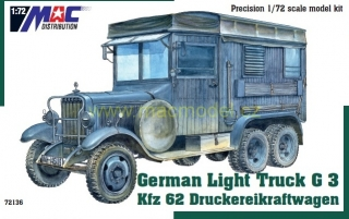 1:72 Mercedes-Benz G3 Kfz.62 ( detaily na mackits.cz ) - MAC.distribution