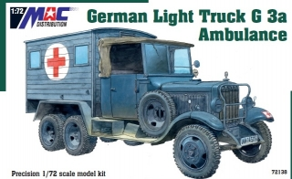 1:72 Mercedes-Benz G3 Ambulance - MAC.distribution