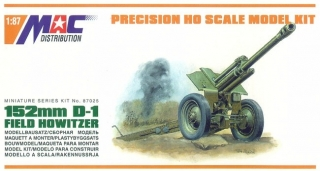 1:87 gun 122mm M-30 houfnice - MAC.distribution