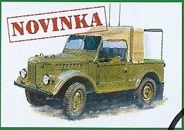 1:87 GAZ 69 radiovůz - MAC.distribution