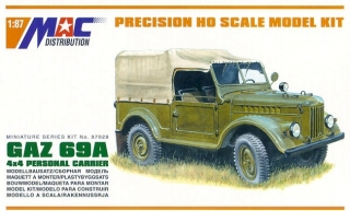 1:87 GAZ 69. - MAC.distribution