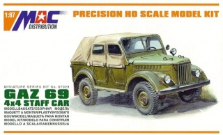 1:87 GAZ 69 A - MAC.distribution