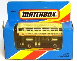 1:59 London Bus Torvalle Fisher Engineering - Matchbox