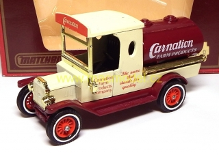 1:43 Ford T 1912 tanker Carnation - Matchbox