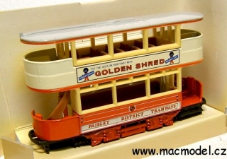 1:72 Preston tramvaj 1922 Golden Shred - Matchbox