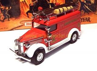 1:43 GMC van 1937 Rescue Squad - Matchbox