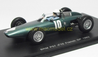 1:43 BRM P57 # 10 French GP 1962 Richie Ginther - Spark