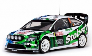 1:18 Ford Focus RS WRC07 2008 Monte Carlo # 8 Duval-Chevailier - SunStar