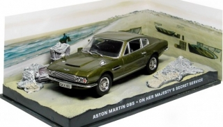 "1:43 Aston Martin DB S - James Bond ""On her Majesty´s secret service "" - Universal Hobbies"