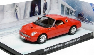 1:43 Ford Thunderbird 2000 - Die another  day - Universal Hobbies