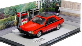 1:43 Renault Fuego - A view to a kill - Universal Hobbies