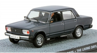 1:43 VAZ 2105 - The Living Daylights - Universal Hobbies