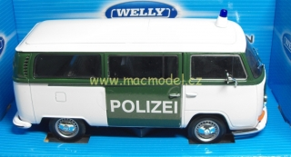 1:24 VW T2 1972 bus POLIZEI - Welly