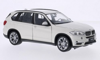 1:24 BMW X5 (F15) bílý - Welly