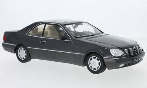 1:18 Mercedes-Benz 600 SEC ( C140 ) antracit - KK Scale