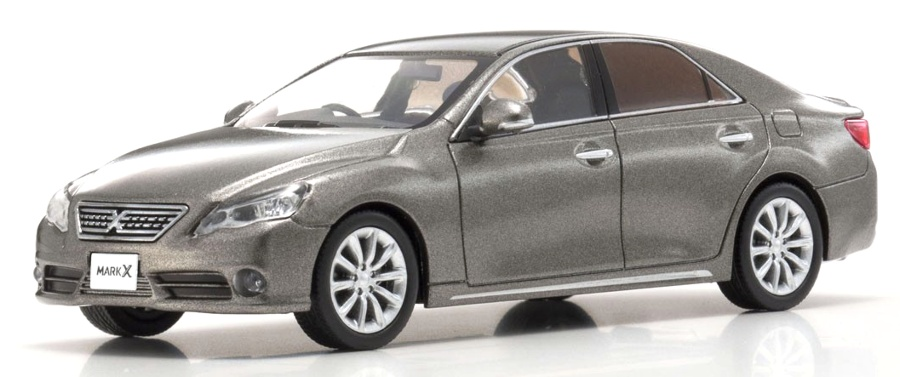 1:43 Toyota Mark X 250 G early 2000 bronzový - Kyosho