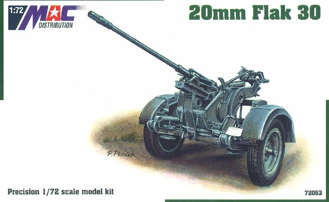 1:72 flak 30 20mm - MAC.distribution