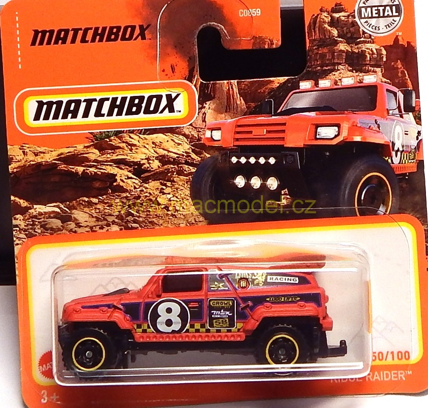 1:59 Ridge Raider - Matchbox