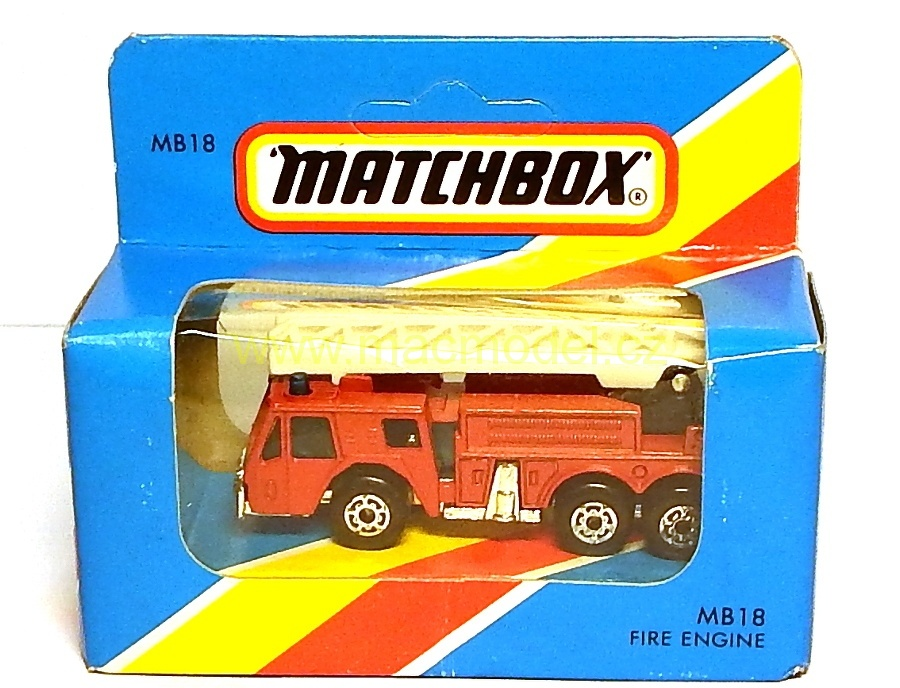 1:59 Fire engine - Matchbox