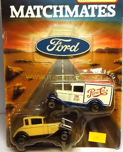 1:59 Ford Match mates - Matchbox